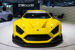 Αθλητικό αυτοκίνητο Zenvo TSR Στοκ Φωτογραφία