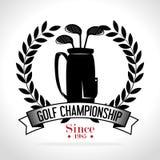 Αθλητικό γκολφ κλαμπ ελεύθερη απεικόνιση δικαιώματος
