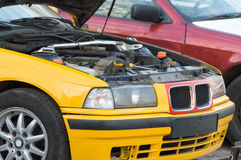 αθλητικό διάνυσμα πλέγματος αυτοκινήτων Στοκ εικόνες με δικαίωμα ελεύθερης χρήσης