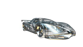 αθλητικό διάνυσμα πλέγματος αυτοκινήτων ελεύθερη απεικόνιση δικαιώματος