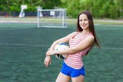Αθλητικό κορίτσι Στοκ φωτογραφίες με δικαίωμα ελεύθερης χρήσης