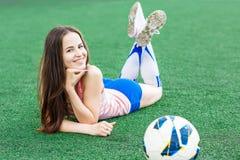 Αθλητικό κορίτσι Στοκ Φωτογραφίες
