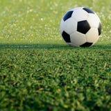 Αθλητικό παιχνίδι σφαιρών ποδοσφαίρου Στοκ φωτογραφίες με δικαίωμα ελεύθερης χρήσης