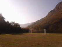 Αθλητικό ποδόσφαιρο Στοκ Φωτογραφία