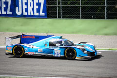Αθλητικό πρωτότυπο αγώνα Ligier του Αλγκάρβε υπέρ Στοκ φωτογραφίες με δικαίωμα ελεύθερης χρήσης