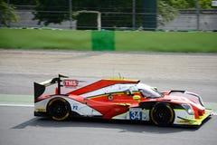 Αθλητικό πρωτότυπο Motorsports Ligier Tockwith Στοκ φωτογραφίες με δικαίωμα ελεύθερης χρήσης