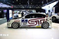 Αθλητικό πρότυπο Subaru Στοκ φωτογραφία με δικαίωμα ελεύθερης χρήσης