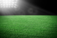 Αθλητικό στάδιο Στοκ φωτογραφία με δικαίωμα ελεύθερης χρήσης