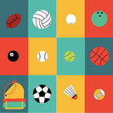 Αθλητικό χρώμα Στοκ εικόνα με δικαίωμα ελεύθερης χρήσης