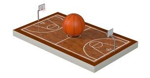 Αθλητισμός, έννοια καλαθιών Στοκ Εικόνα