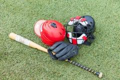 Αθλητισμός εξοπλισμού σόφτμπολ Στοκ φωτογραφία με δικαίωμα ελεύθερης χρήσης