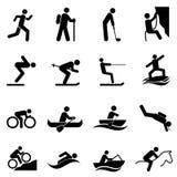 Αθλητισμός ελεύθερου χρόνου και υπαίθριες δραστηριότητες Στοκ Εικόνες