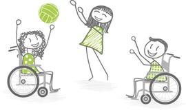 Αθλητισμός και με ειδικές ανάγκες άτομα Στοκ Εικόνες