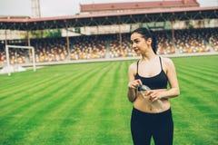 αθλητισμός κοριτσιών Στοκ Εικόνες