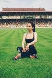 αθλητισμός κοριτσιών Στοκ Φωτογραφίες