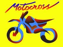 Αθλητισμός μοτοσικλετών διανυσματική απεικόνιση