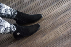 αθλητισμός παπουτσιών ζ&epsilon στοκ εικόνες