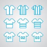 Αθλητισμός πουκάμισων Στοκ φωτογραφία με δικαίωμα ελεύθερης χρήσης