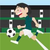 Αθλητισμός ποδοσφαίρου ποδοσφαίρου Στοκ Εικόνες