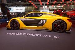 2014 αθλητισμός Ρ της Renault S 01 Στοκ Εικόνα