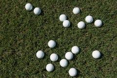 αθλητισμός σειράς γκολφ παιχνιδιών σφαιρών ανασκόπησης Στοκ εικόνα με δικαίωμα ελεύθερης χρήσης