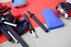 Αθλητισμός Chanbara Στοκ φωτογραφία με δικαίωμα ελεύθερης χρήσης