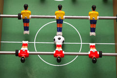 Αθλητισμός foosball arcade Στοκ φωτογραφία με δικαίωμα ελεύθερης χρήσης