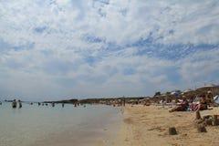 Αιγαία περιοχή - νησί Tenedos, παραλία Ayazma στοκ φωτογραφίες