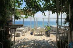 Αιγαία περιοχή - νησί Tenedos, τέχνη, στα καταστήματα, σπίτια στοκ φωτογραφίες με δικαίωμα ελεύθερης χρήσης
