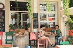 Αιγαία περιοχή - παραδοσιακό κατάστημα στοκ φωτογραφία με δικαίωμα ελεύθερης χρήσης