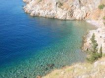 Αιγαίο πέλαγος σε Hydra Στοκ εικόνες με δικαίωμα ελεύθερης χρήσης