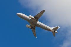 Αιγαίο airbus A320-232 αερογραμμών Στοκ Εικόνες