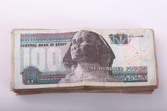 αιγυπτιακά χρήματα στοκ εικόνα