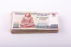 αιγυπτιακά χρήματα στοκ φωτογραφία