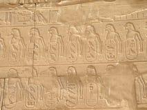 Αιγυπτιακά hieroglyphs Στοκ Εικόνες
