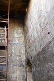 Αιγυπτιακές επιγραφές στο ναό - Αίγυπτος Στοκ Φωτογραφίες