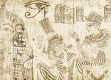 Αιγυπτιακή ανασκόπηση Στοκ φωτογραφία με δικαίωμα ελεύθερης χρήσης