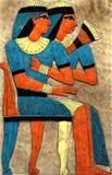 αιγυπτιακή ζωγραφική Στοκ Εικόνες
