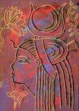 Αιγυπτιακή θεά Hathor Στοκ Φωτογραφίες