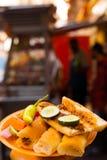 αιγυπτιακή οδός sogo σάντουιτς τροφίμων κάρρων Στοκ Φωτογραφία