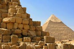 αιγυπτιακή πυραμίδα Στοκ εικόνα με δικαίωμα ελεύθερης χρήσης