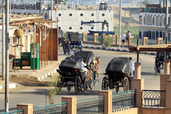 Αιγυπτιακή πόλη Aswan Στοκ φωτογραφία με δικαίωμα ελεύθερης χρήσης