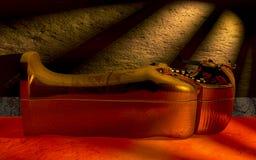 αιγυπτιακή Σαρκοφάγος στοκ εικόνα με δικαίωμα ελεύθερης χρήσης