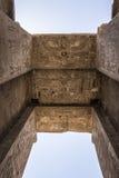 αιγυπτιακός ναός Κατάπληξη της Αιγύπτου Στοκ Εικόνα