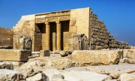 αιγυπτιακός ναός Στοκ εικόνες με δικαίωμα ελεύθερης χρήσης