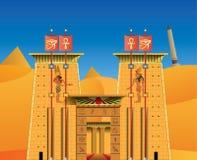 Αιγυπτιακός ναός Acient Στοκ εικόνες με δικαίωμα ελεύθερης χρήσης