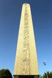 Αιγυπτιακός οβελίσκος Στοκ φωτογραφίες με δικαίωμα ελεύθερης χρήσης