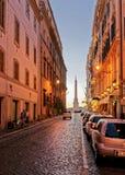 Αιγυπτιακός οβελίσκος στη Ρώμη στην Ιταλία Στοκ Φωτογραφία