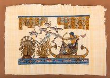 Αιγυπτιακός πάπυρος Ramses 2 Στοκ Φωτογραφία