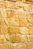 αιγυπτιακός τοίχος Στοκ Φωτογραφία